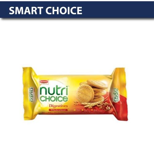 Britannia Nutri Choice - Hi Fibre Digestive Biscuits, 100 gm Pouch