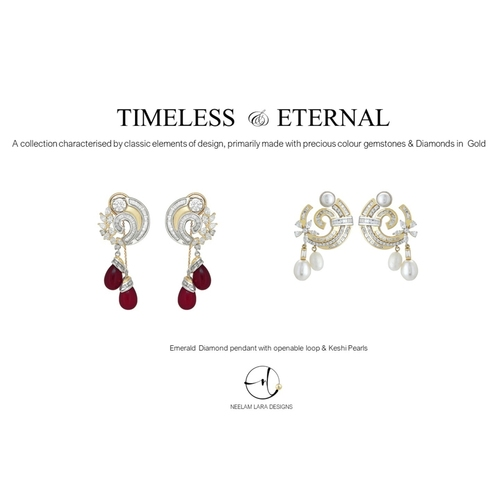 Classic and eternal Diamond tops with detachable drops and multi function wearability