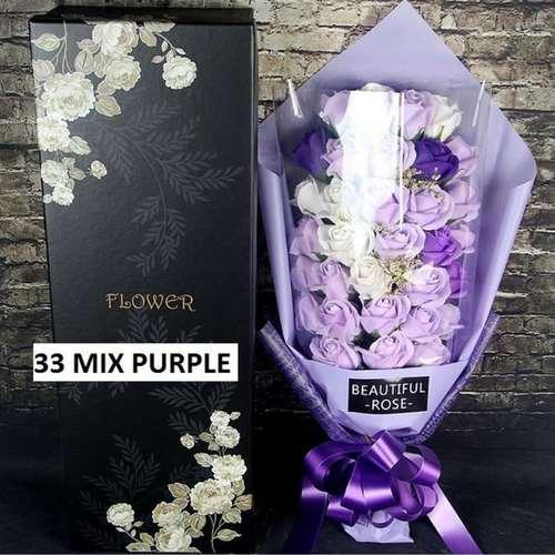 (Mixed) Purple flower bouquet
