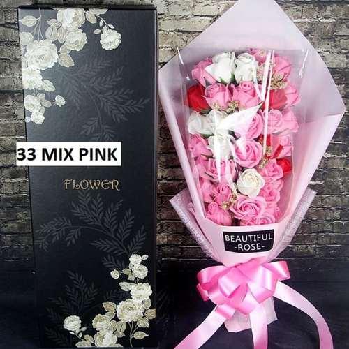 (Mixed) Pink flower bouquet