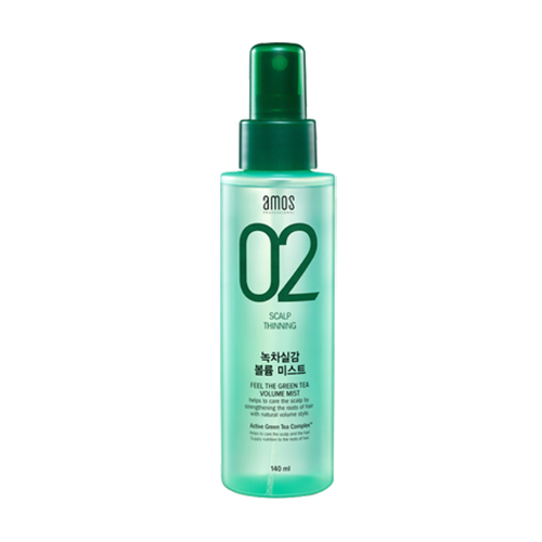 AMOS PROFESSIONAL 02 Feel The Green Tea Volume Mist