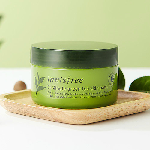 INNISFREE 3-Minute Green Tea Skin Pack