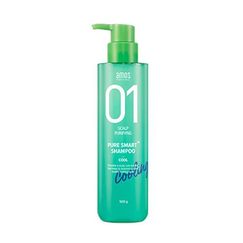 AMOS PROFESSIONAL 01 Pure Smart Shampoo - Cool