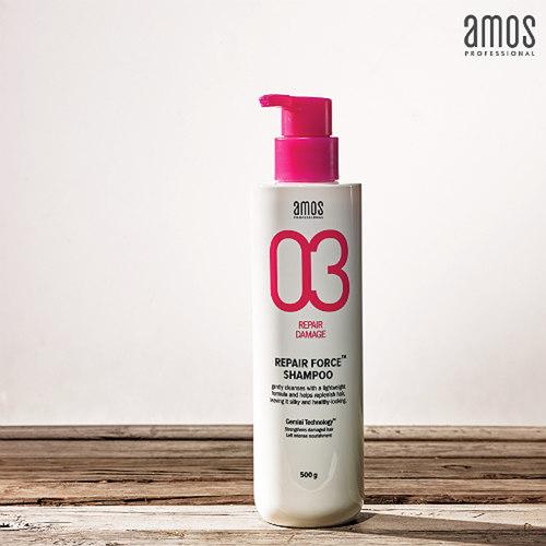AMOS PROFESSIONAL 05 Repair Force Shampoo