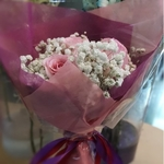 Vflowers 5 Pink Roses A