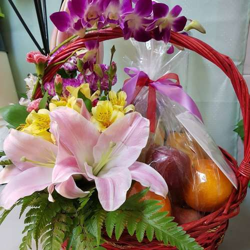 Vflowers Care Basket