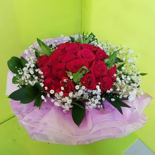 Vflowers 24 Roses Wedding Proposal