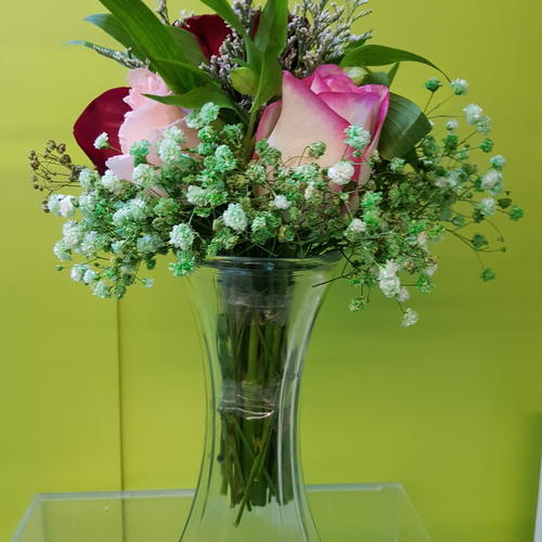 Vflowers Shocking Evergreen Arrangements
