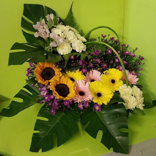 Vflowers Sunshine Basket