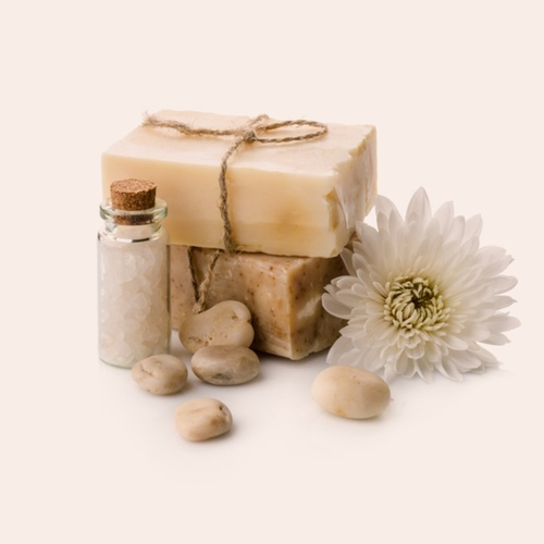 Wild Chamomile I'nāt Natural Handmade Emulsion Bar Soap