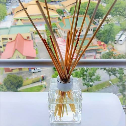 Mori Reed Diffuser ( Wild Orange & Peppermint )