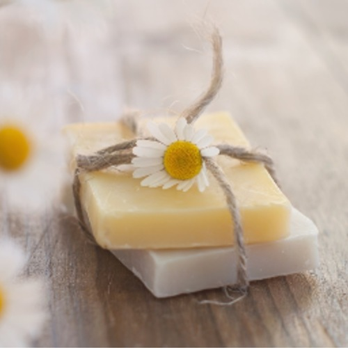 Unscented I'nāt Natural Handmade Premium Emulsion Bar Soap