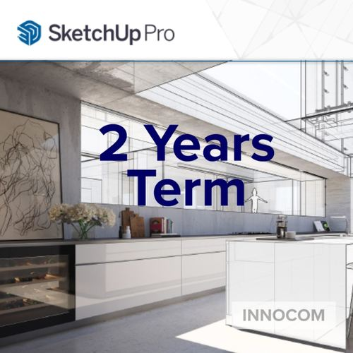 SketchUp Pro 2021-Annual 2 Years Term
