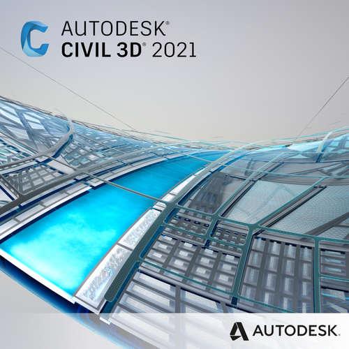 Autodesk AutoCAD Civil 3D 2021 Commercial 1-Year Subscription