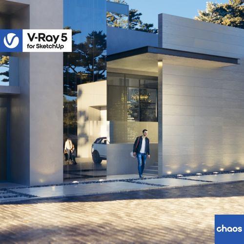 V-Ray 5  for Sketchup- Perpetual