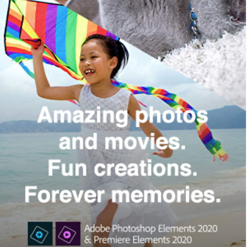 Adobe Photoshop & Premiere Elements 2020 Multi Platform