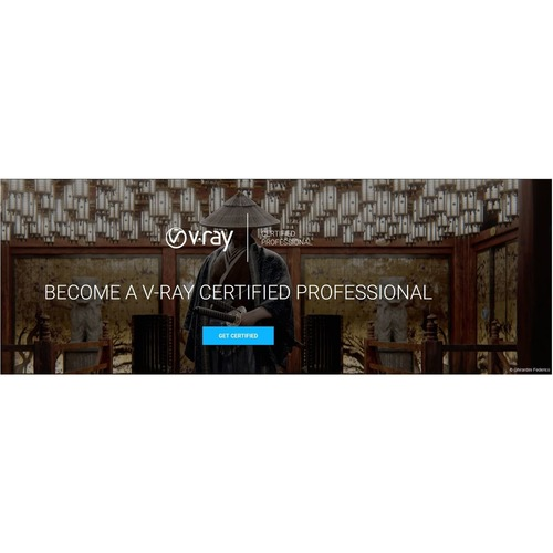 V-RAY CERTIFIED PROFESSIONALS EXAM VOUCHER