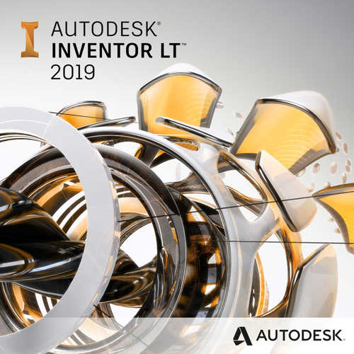 Autodesk Autocad Inventor LT Suite 2019 (1-Year Subscription)