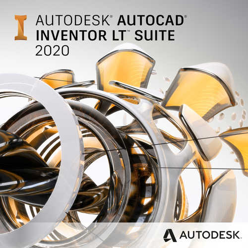 Autodesk Autocad Inventor LT Suite 2020 (1-Year Subscription)