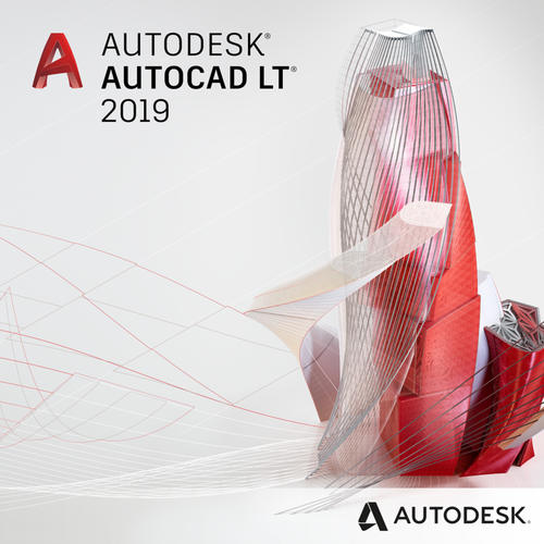 Autodesk Autocad LT 2019 (1-Year Subscription)