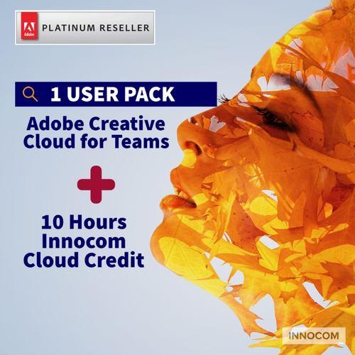 ADOBE CREATIVE CLOUD FOR TEAMS – 1 YEAR  - 1 USER