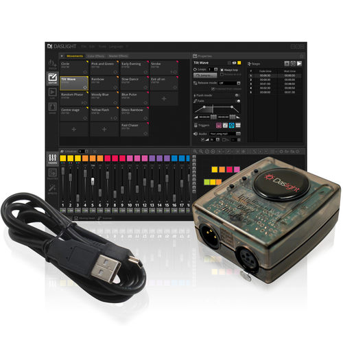 Daslight Virtual Controller DVC4 GOLD