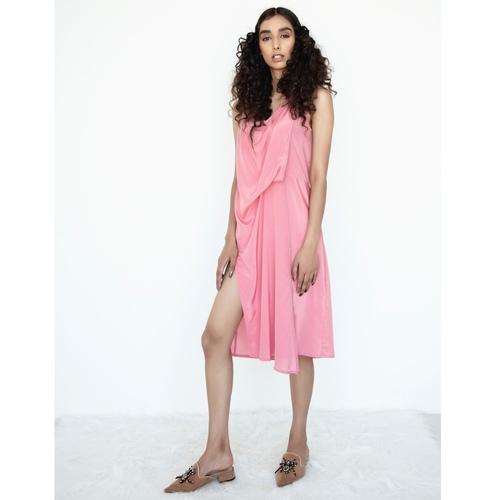 Multi drape tunic dress