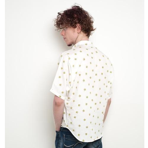 Banana print kimono sleeve unisex shirt