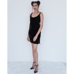 Black Spagetti cami-dress