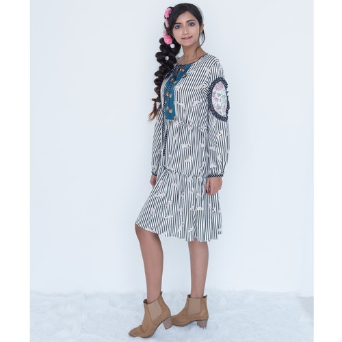 Printed kurta dress