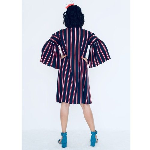 Sailor dress with mega gusset