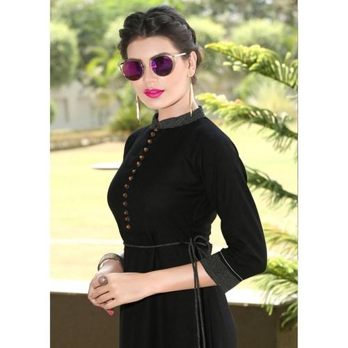 Fasdest Women/Ladies Rayon Flex Kurti/Gown