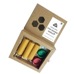 Pure Beeswax Candles Gift Set Set of 3