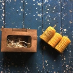 Pure Beeswax Candles Small Gift Box Set of 3