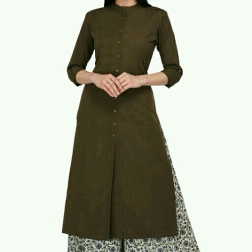 cotton kurti nd plazo