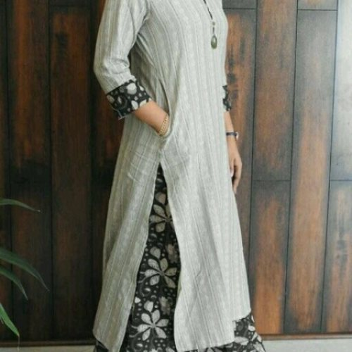 Cotton kurti set