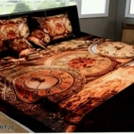 Velvet double Bedsheet