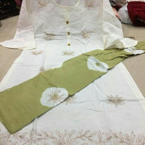 Cotton kurti with plazo
