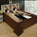 elegant Velvet Bedsheet
