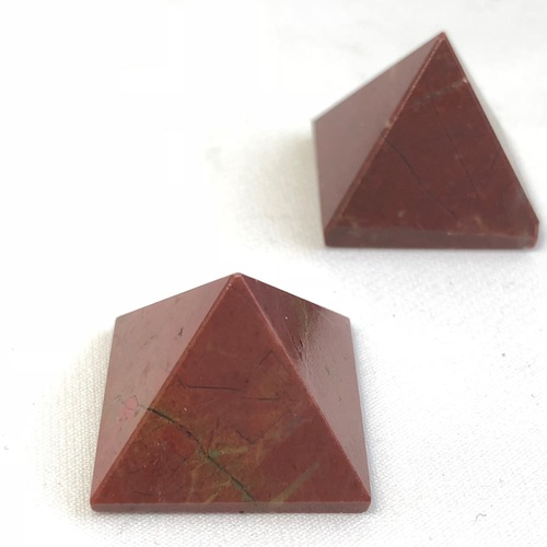 Red Jasper Pyramid - Small