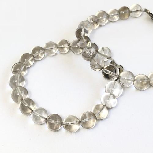Smokey Quartz Bracelet - Round Beads