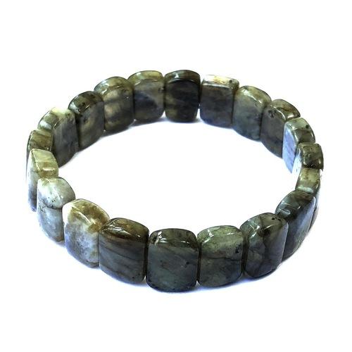 Labradorite Bracelet - Flat Beads (Small)