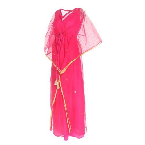 JEWEL pink kaftan resort maxi dress set