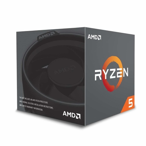 AMD Ryzen 5 2600 CPU (With AMD Wraith Stealth Cooler)