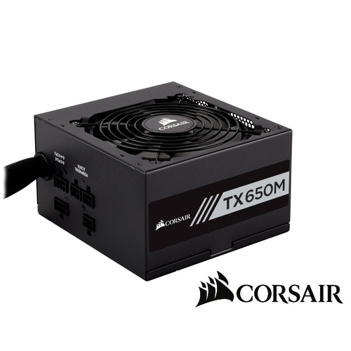 Corsair TX 650M 80 Plus Gold Semi-Modular PSU