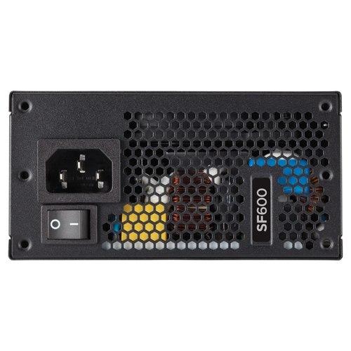 Corsair SF Series SF600 — 600 Watt 80 PLUS Platinum Certified High Performance SFX PSU (CP-9020182-UK)