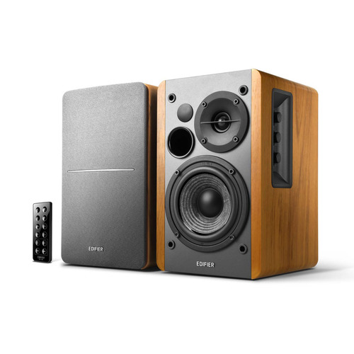 Edifier Bookshelf R1280DB Bluetooth Powered Speakers (Brown)