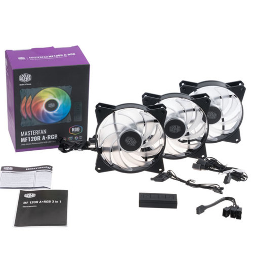 Coolermaster MASTERFAN MF120R ARGB 3IN1 (Includes Controller)