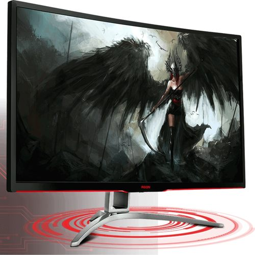 AOC Agon AG322FCX Gaming Monitor (31/Curved/144Hz/Full HD)