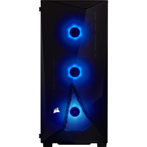 Corsair Carbide Series SPEC-DELTA RGB Tempered Glass Mid-Tower ATX Gaming Case — Black